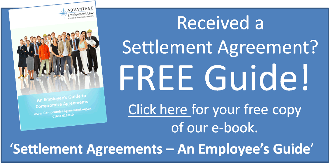 Employment And Hr Solicitors Settlement Agreement Advice